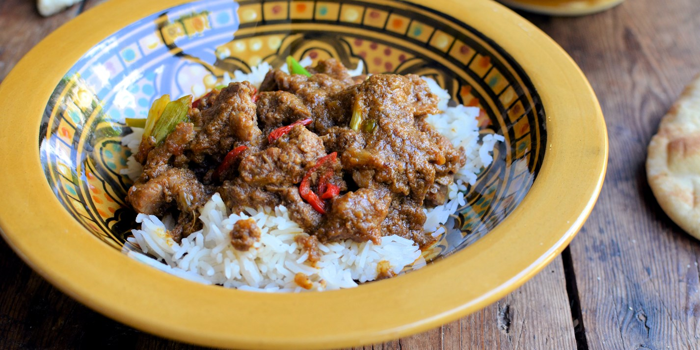 Quick stir-fried Mongolian lamb curry