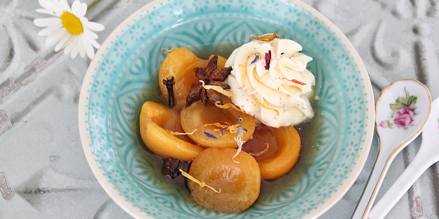 Spiced apricots recipe