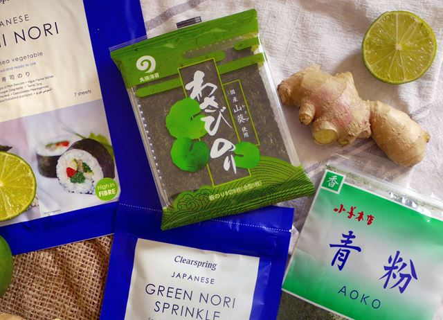 Flavours of Japan - seaweed