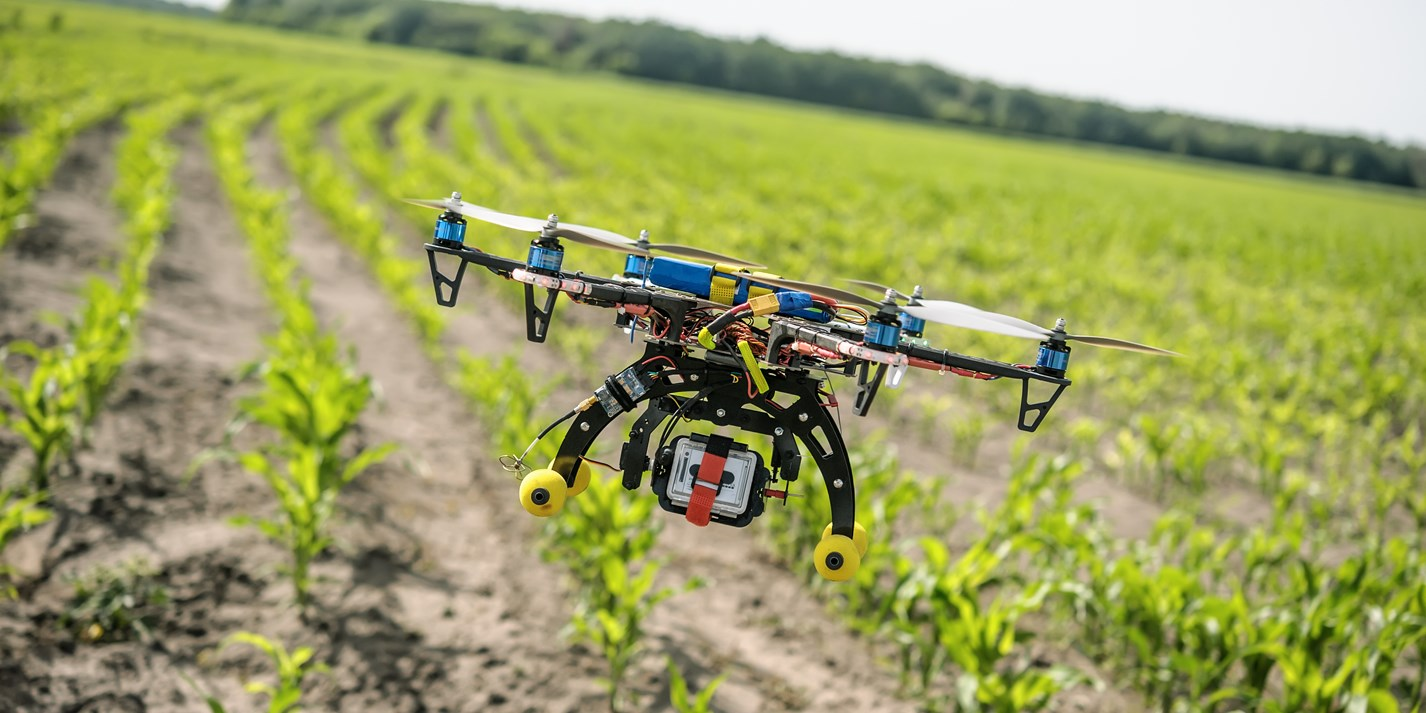 Robot tractors and bio-control: organic farming today