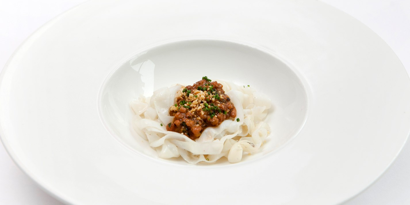 Squid Bolognese