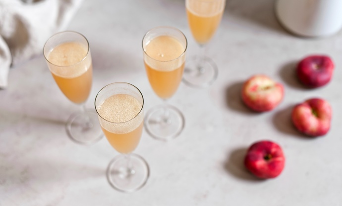 Peach Bellini recipe