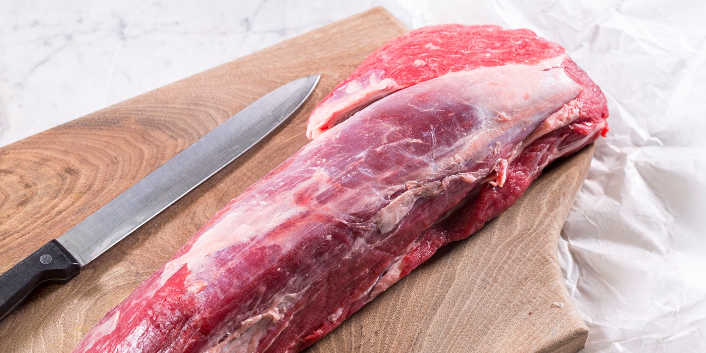 How to prepare a fillet of beef