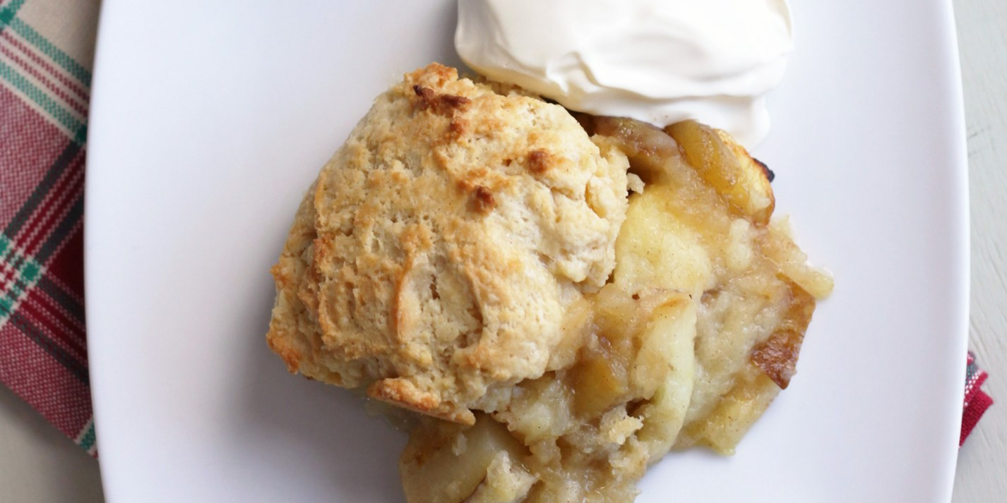 Apple and pear cobbler recipe for Apple pear recipes easy