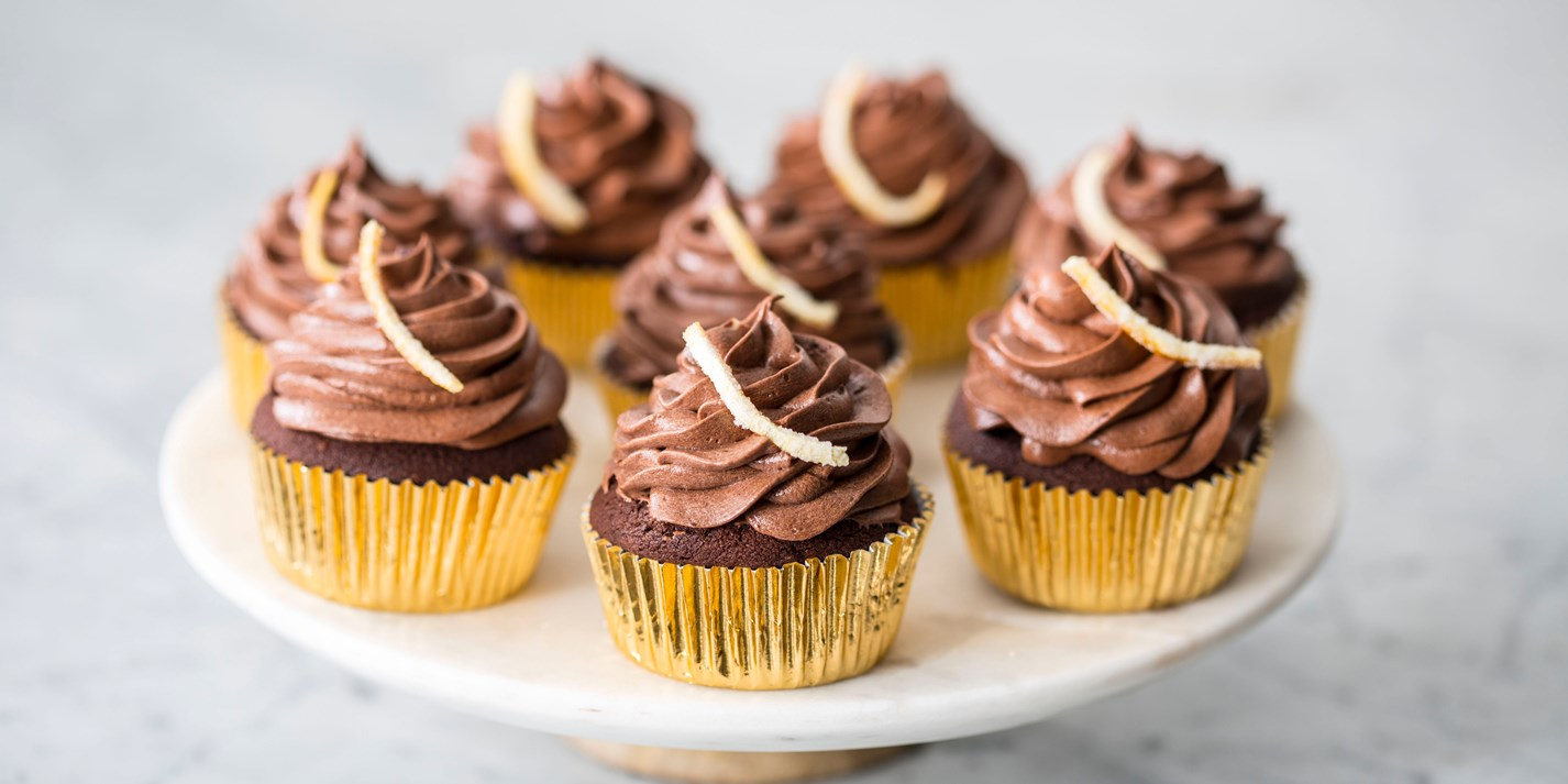 Rich chocolate orange cupcakes