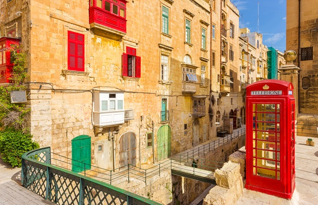 Telephone box Valletta