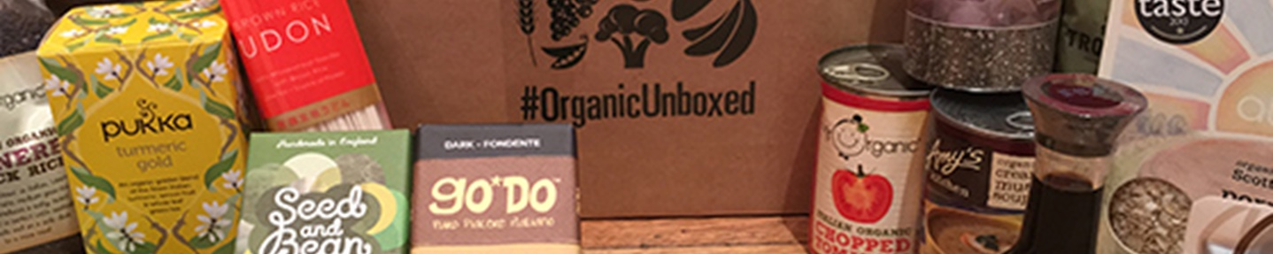 Win one of two OrganicUnboxed hampers worth £75 each
