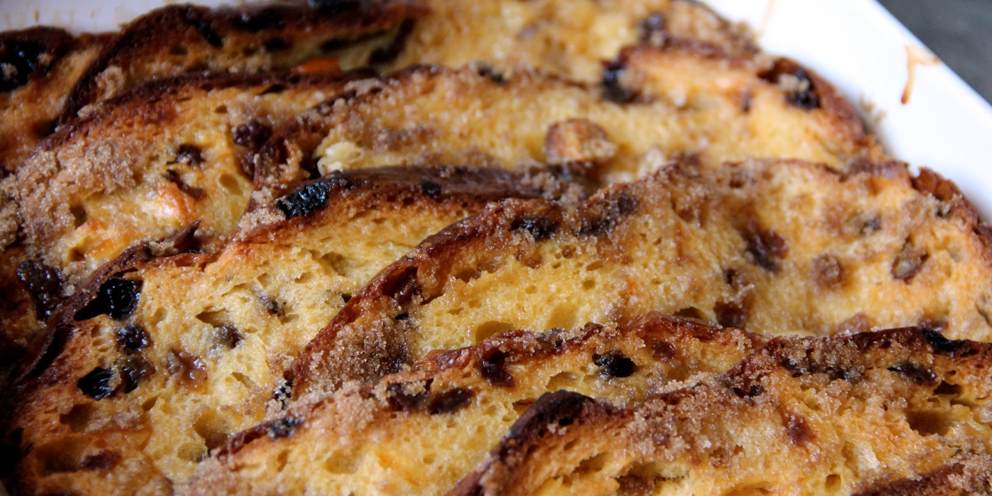Panettone bread and butter pudding recipe