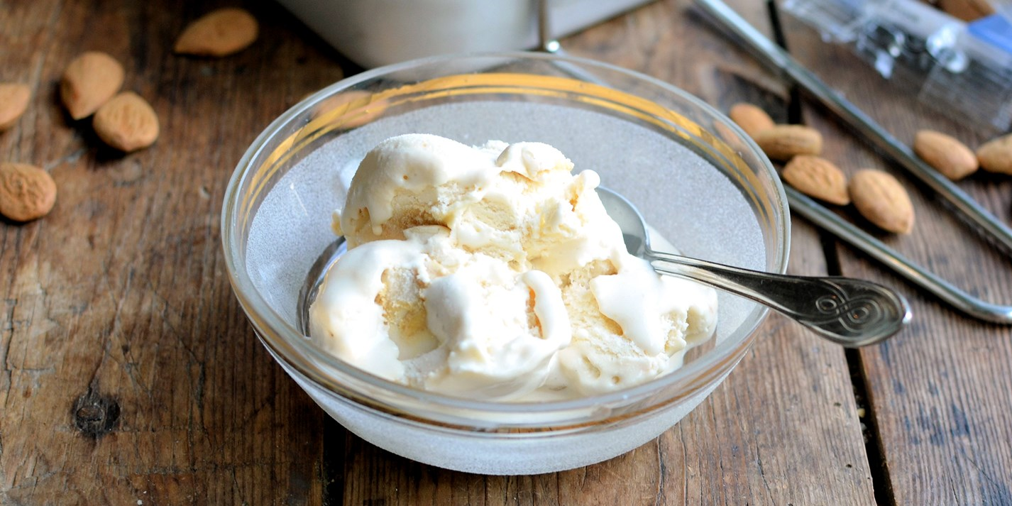 Dairy-free almond ice cream