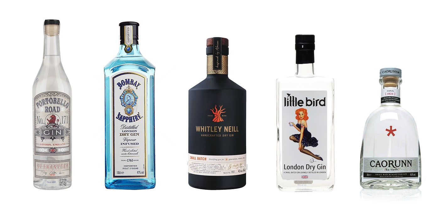The UK's best citrusy and herbaceous gins