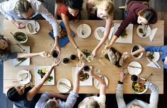 Come dine with us: the modern dinner party