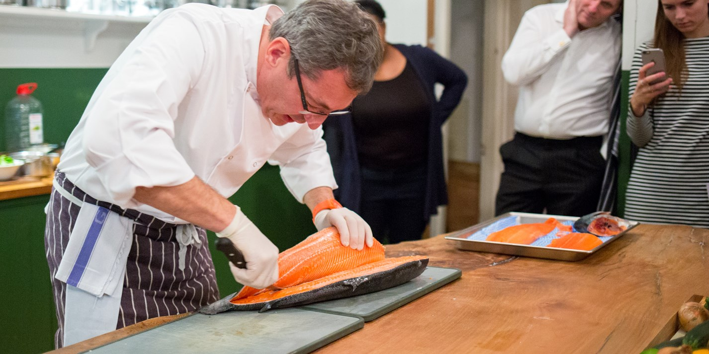 Cook school confidential: cooking with Fjord Trout