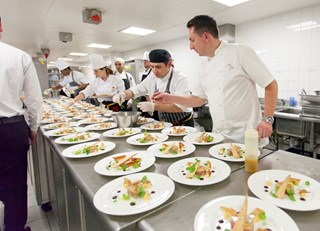 The Great British Chefs NSPCC Dinner 2016