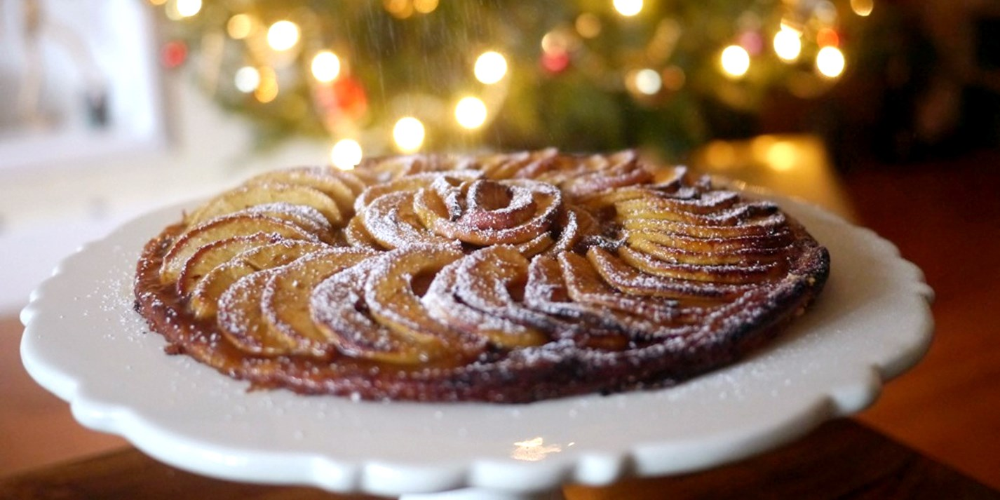 Mulled Apple Tart recipe