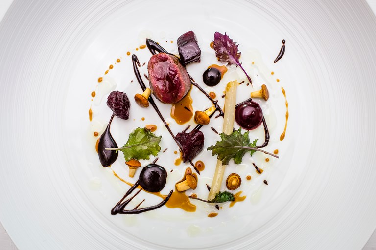 Roe Deer With Beetroot Recipe Great British Chefs