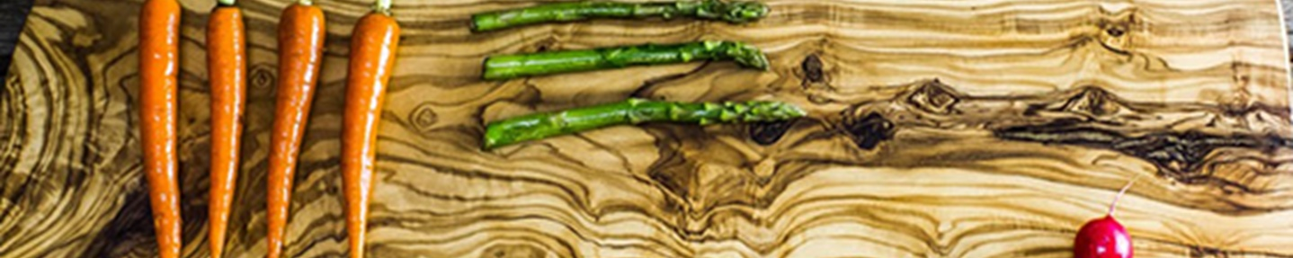 Win a rustic olive wood serving platter worth £50