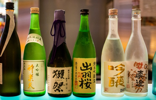 Sake labels