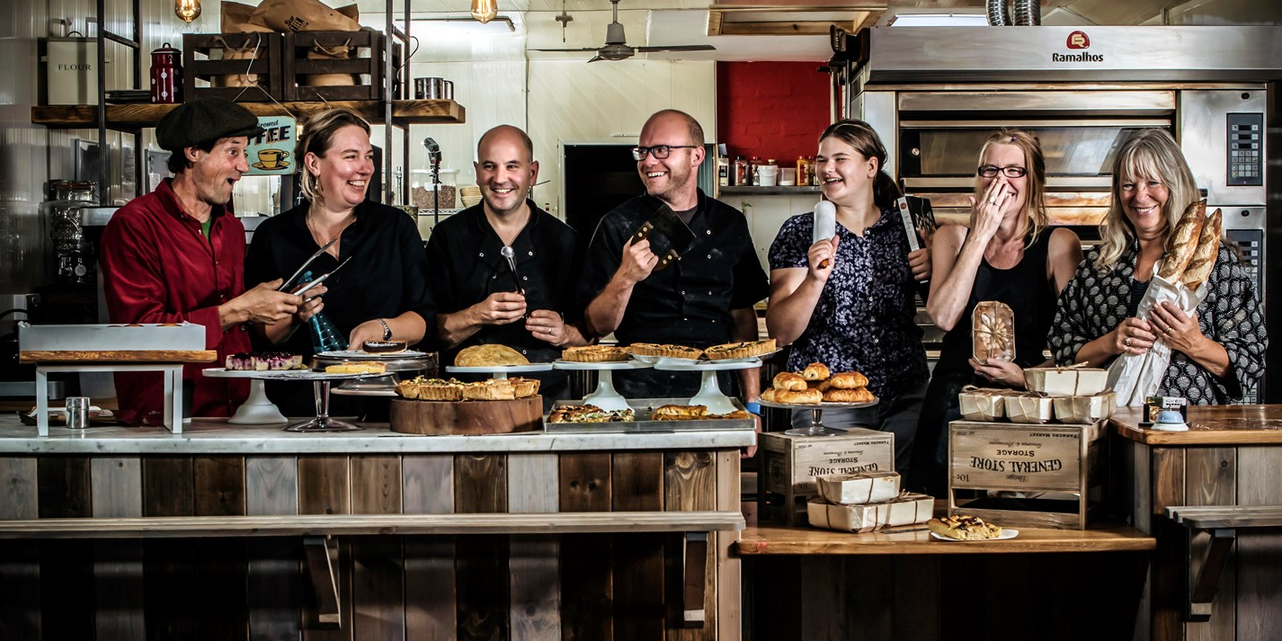 Focaccia from the ashes: The Earth's Crust Bakery