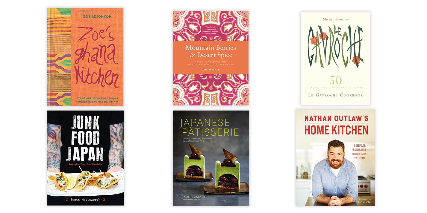 Cookbook new releases: April 2017