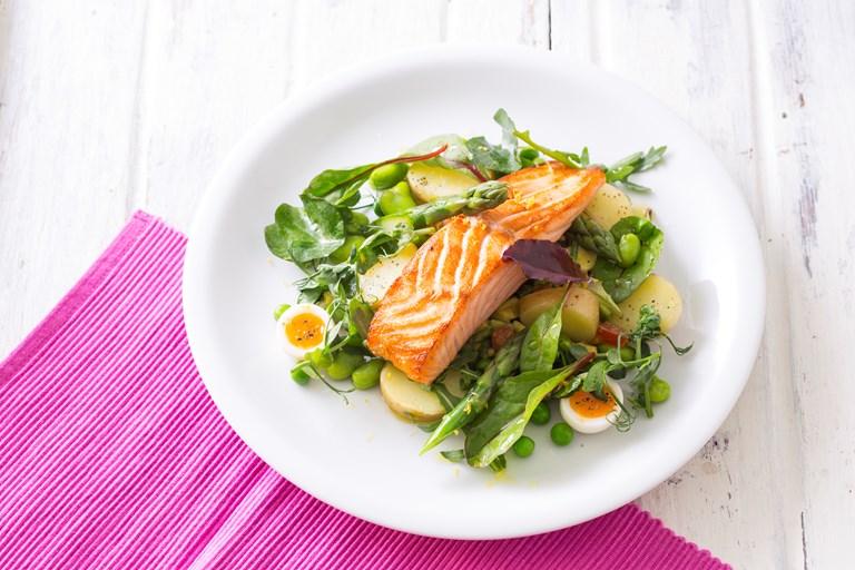 Pan Roasted Salmon Recipe Great British Chefs