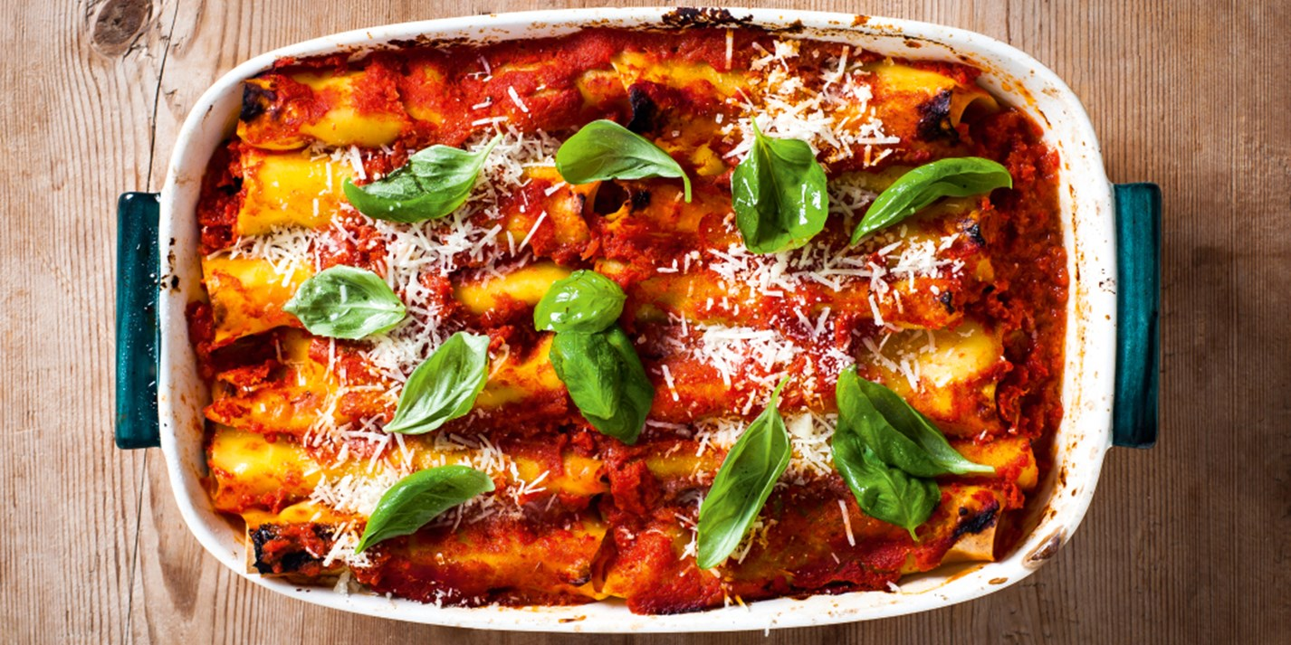 Sorrento-style cannelloni