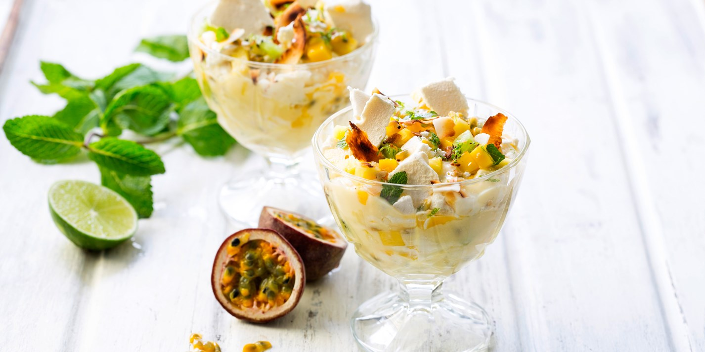Tropical Eton Mess Recipe - Great British Chefs