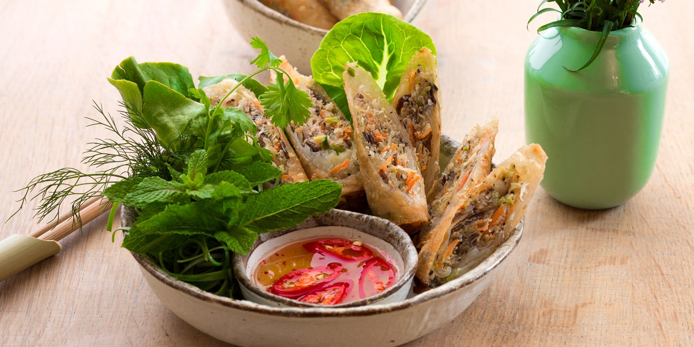 Vietnamese Spring Rolls Recipe - Great British Chefs