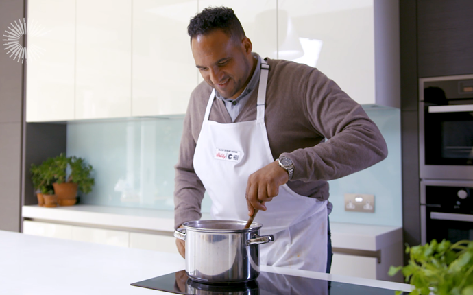 Live and Cooking with Michael Caines on Facebook