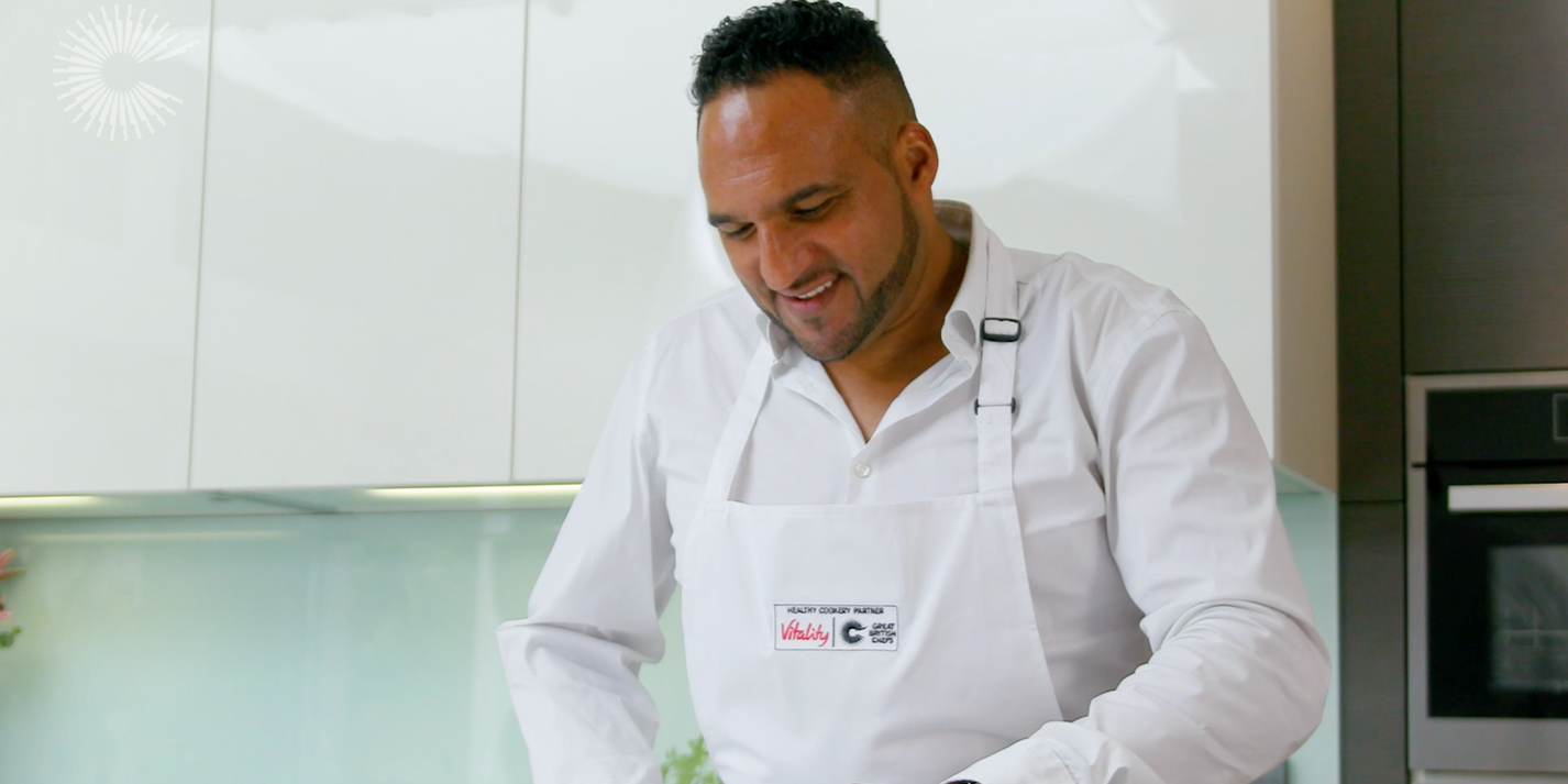 Live and Cooking with Michael Caines: easy, flavourful food