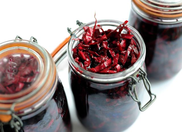 How to pickle red cabbage