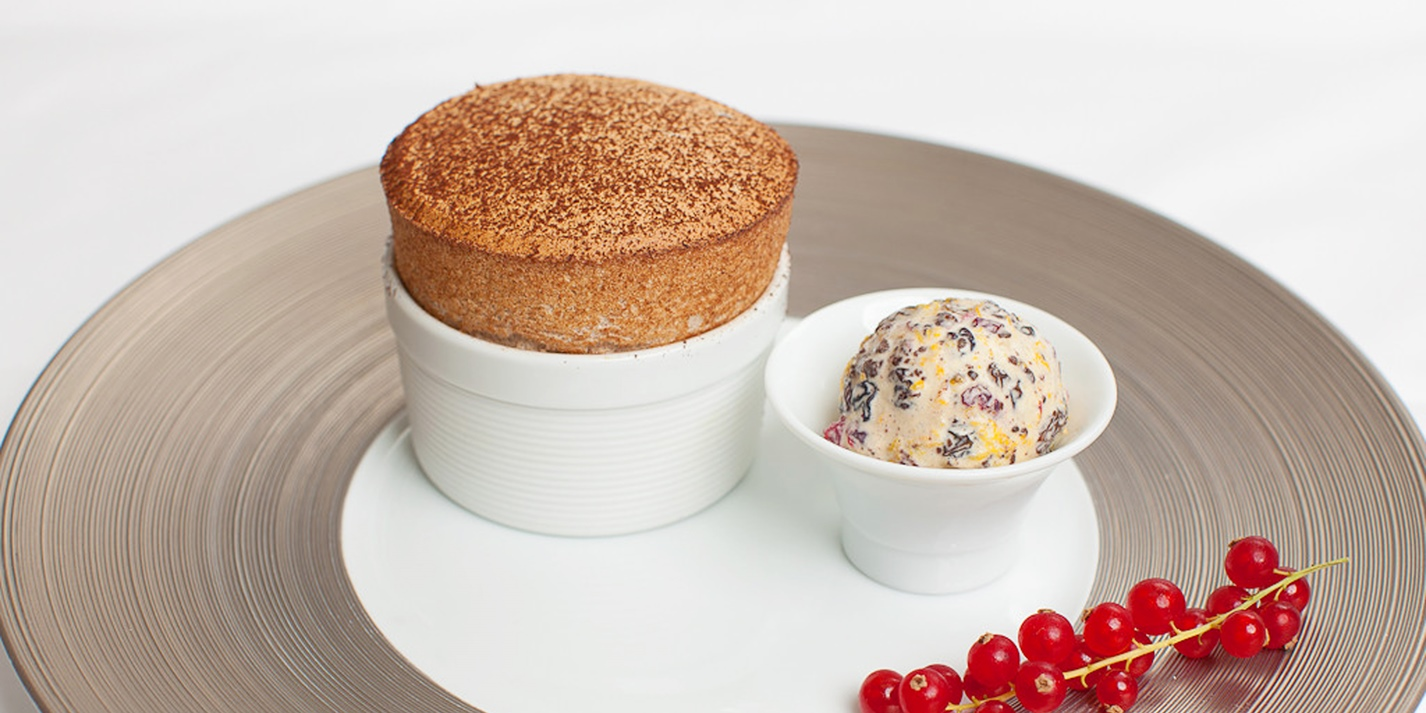christmas pudding souffle gordon ramsay