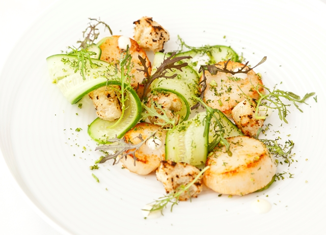Scallops with Lime Mayonnaise Recipe - Great British Chefs
