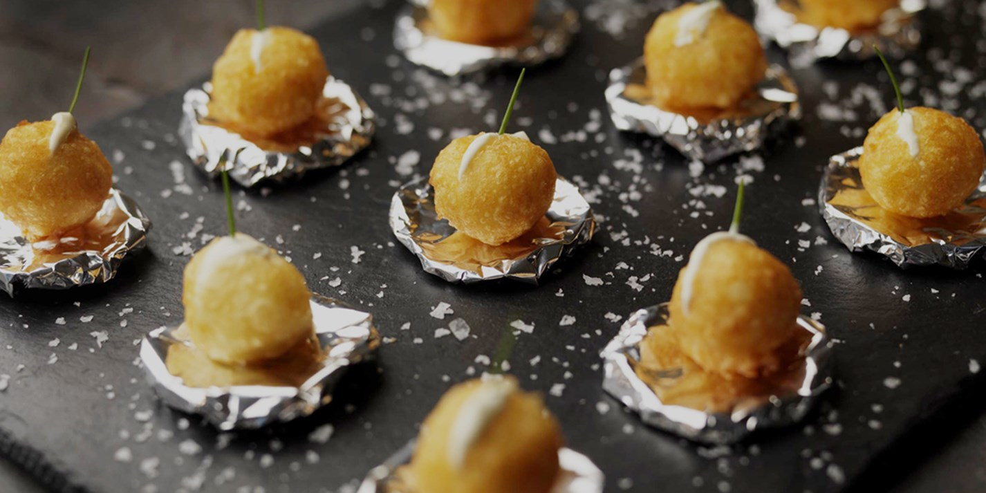Dauphine potatoes recipe great british chefs for Canape desserts
