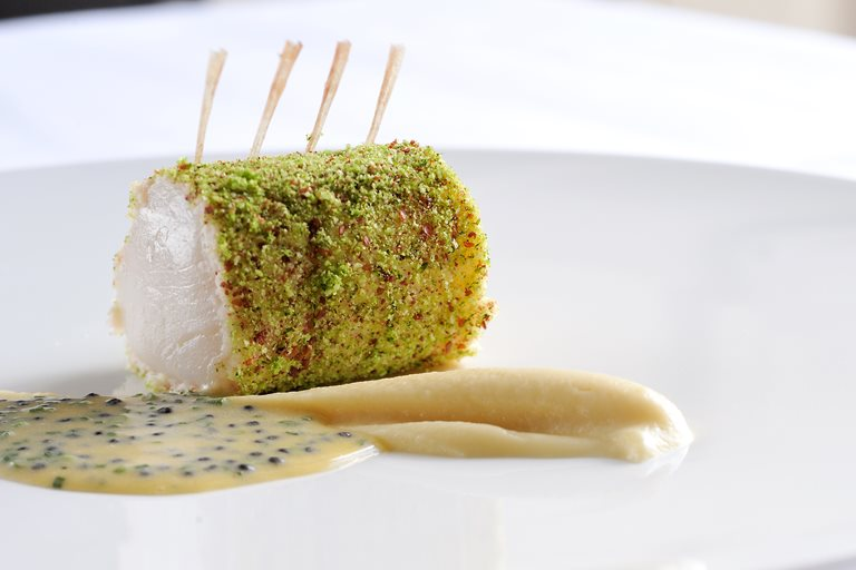 Scallop Amp Prawn Roulade Recipe With Sous Vide Cauliflower