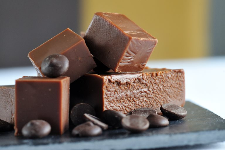 Dark Chocolate Fudge Recipe Great British Chefs