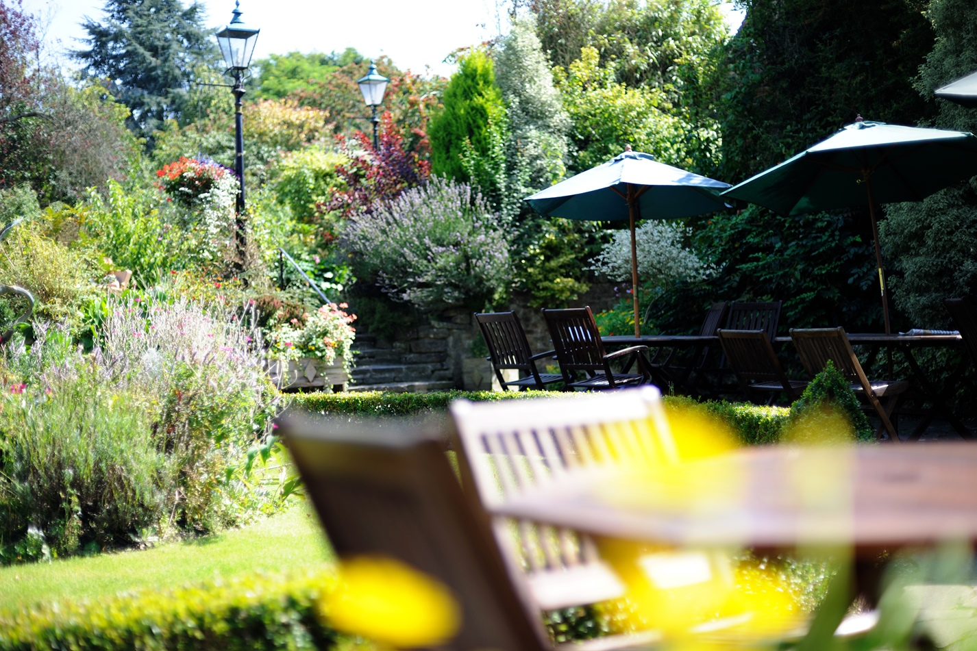 The Terrace at The Montagu Arms
