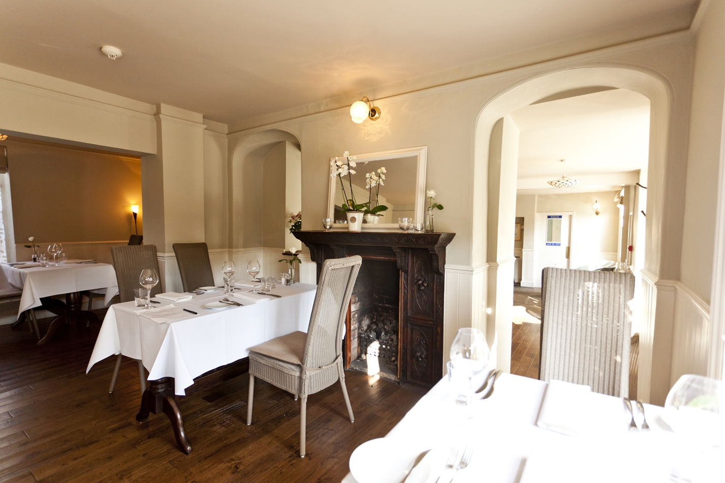 Refurbished coaching inn