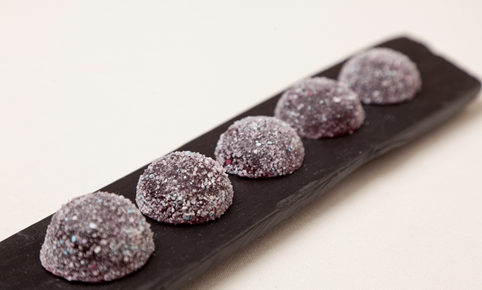 Beetroot and bubblegum pastille