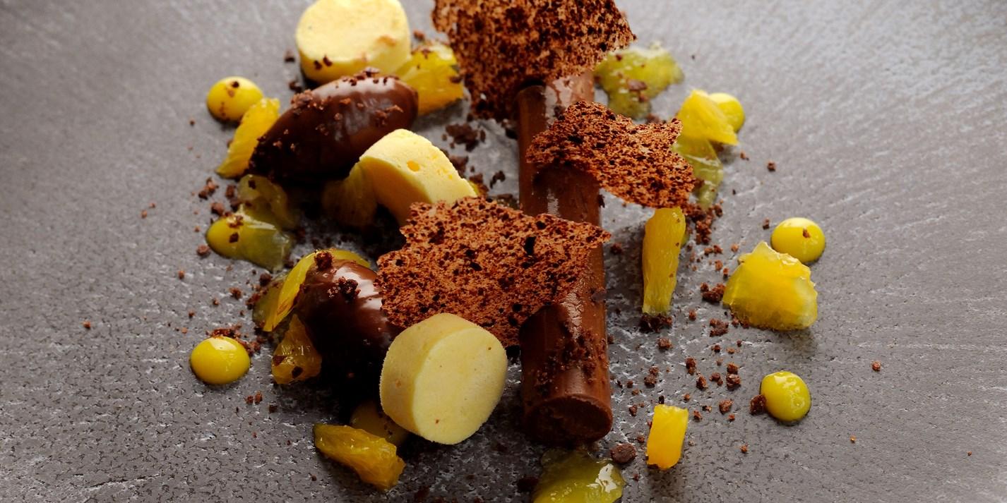 Chocolate Amp Orange Ganache Recipe With Parfait Great British Chefs