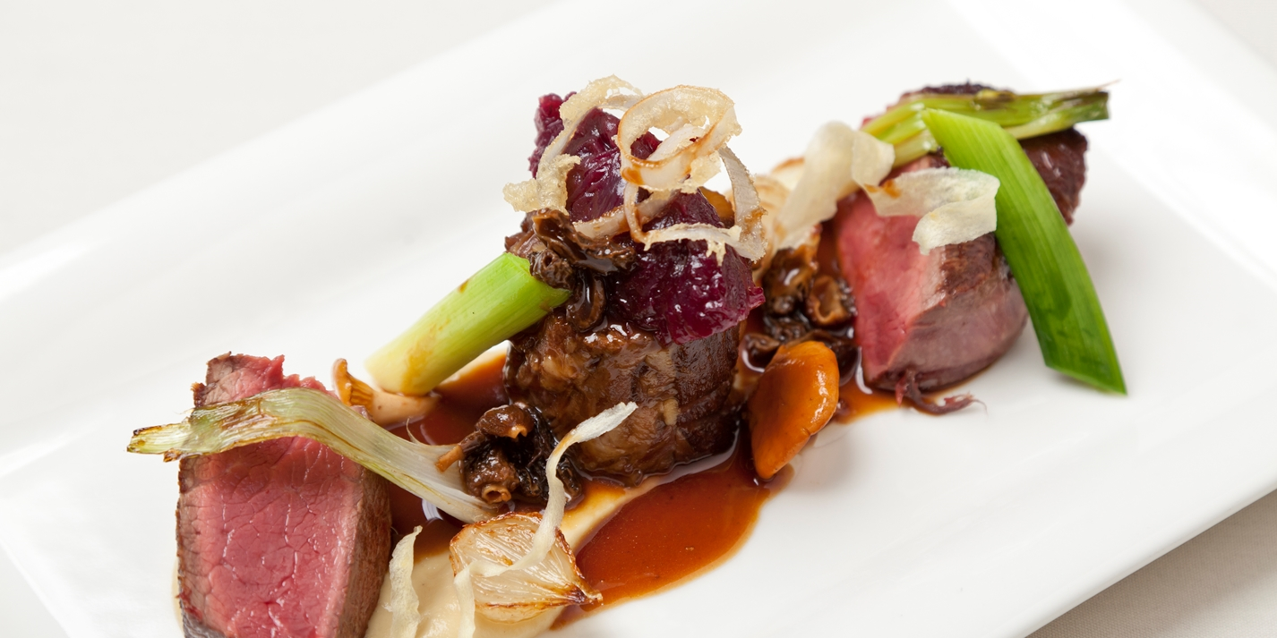 beef with oxtail recipe great british chefs