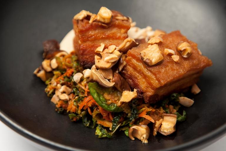 Pork Belly With Kimchi Recipe Great British Chefs