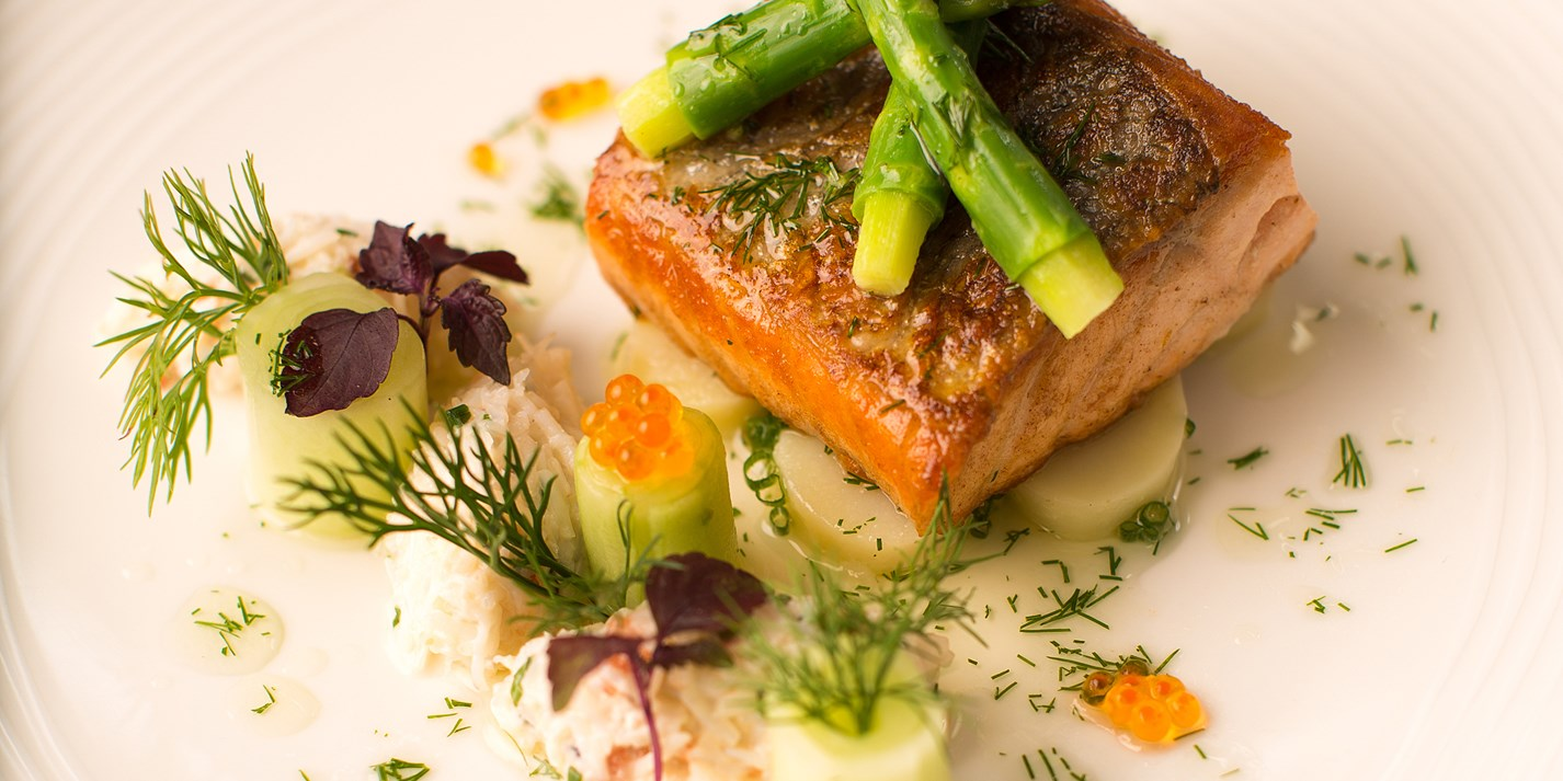 Salmon And Asparagus Recipe Great British Chefs