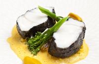 Monkfish With Chorizo Crust Amp Spiced Beans Great British
