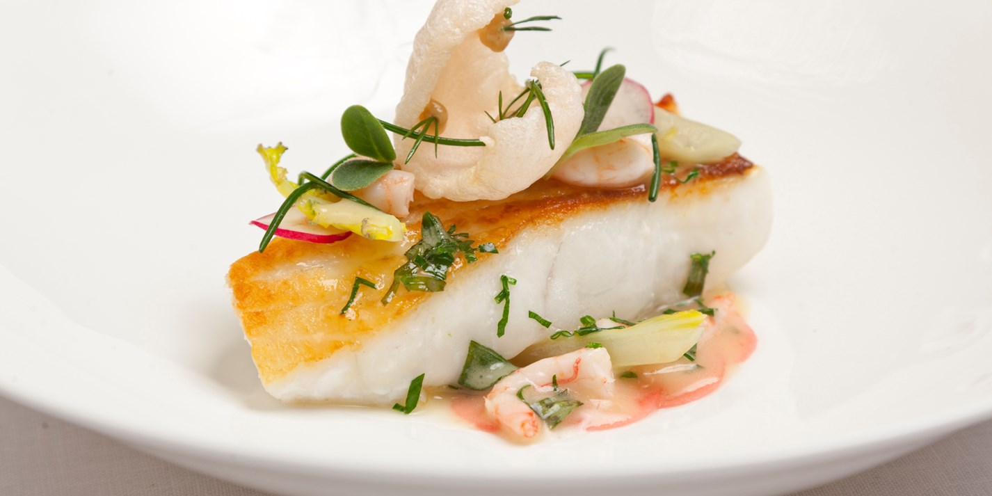 How to pan fry turbot fillets great british chefs for How to cook cod fish in a pan