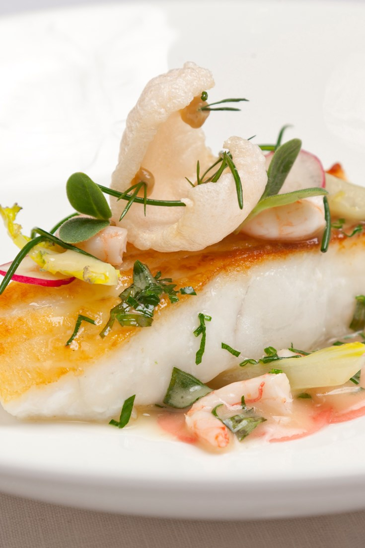 How To Pan Fry Turbot Fillets Great British Chefs