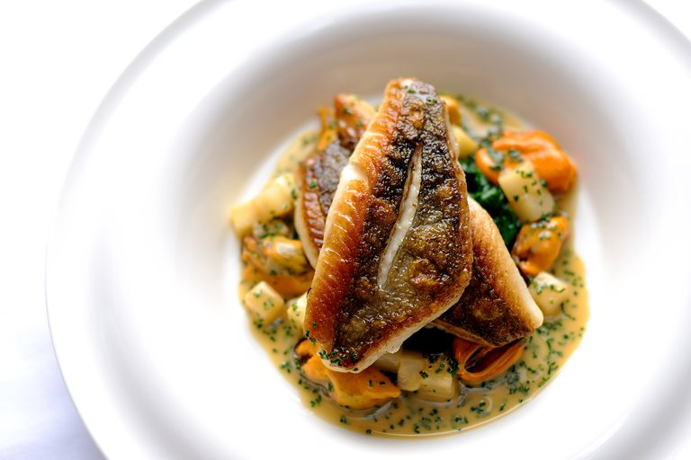 John Dory Recipe Of Pan Fried John Dory Recipe With Mussels Great British Chefs