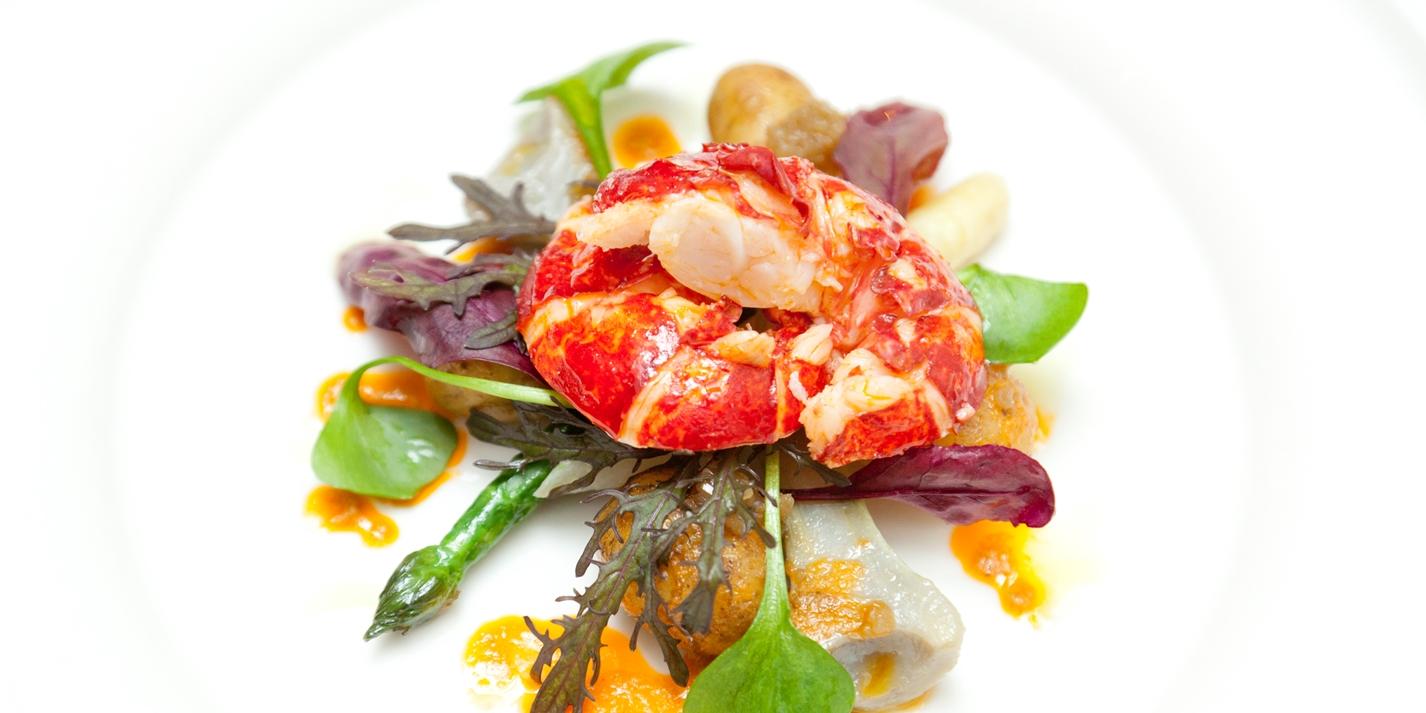 Warm Lobster Salad Recipe - Great British Chefs