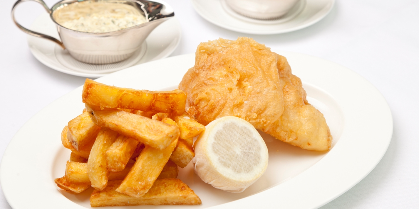 Beer battered fish and chips recipe great british chefs for How to make fish and chips