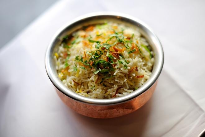 Basmati rice recipes great british chefs zafrani pulao recipe forumfinder Images