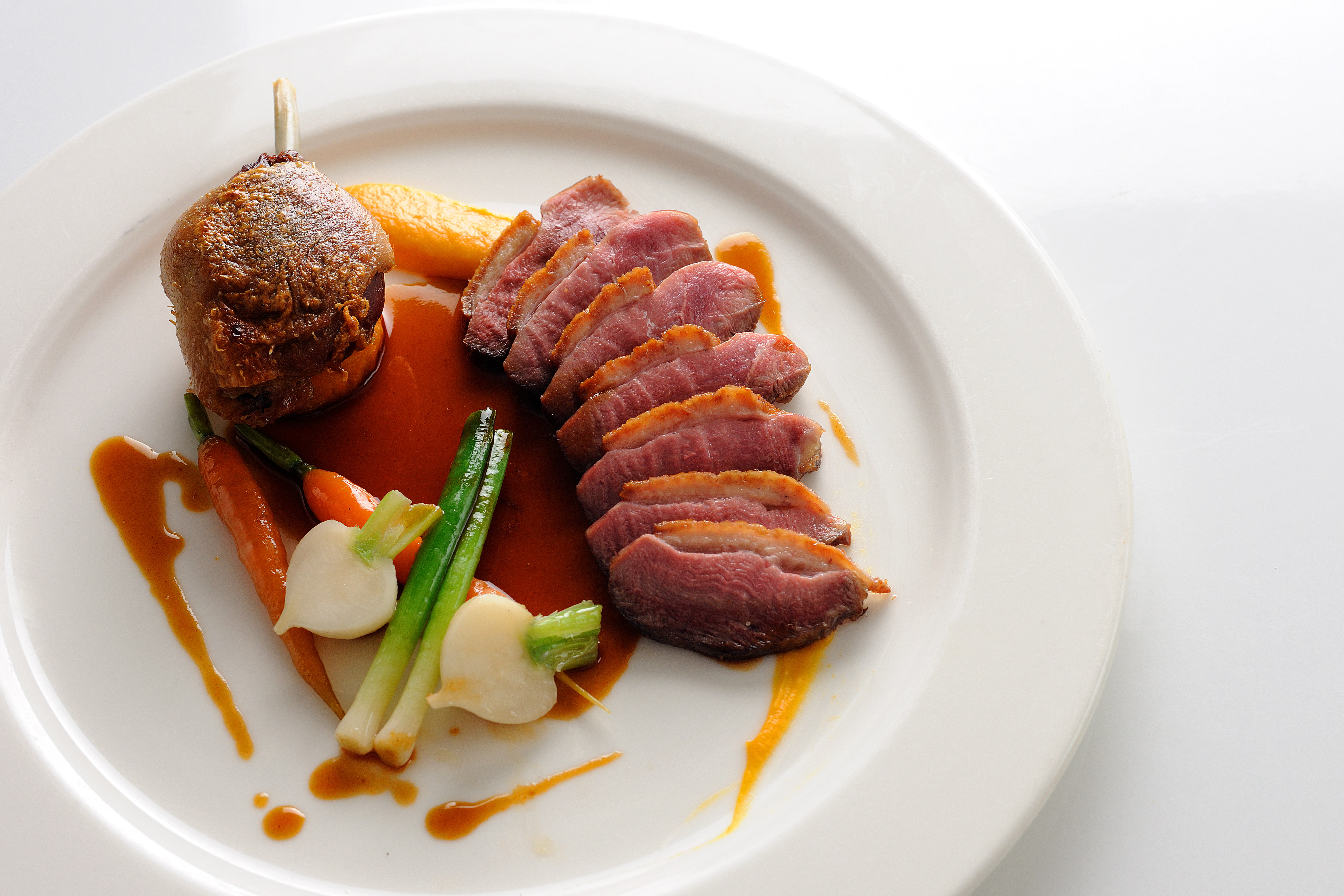 Dishes from the duck. Cooking and features 77